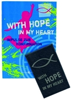 "Geschenkset zur Konfirmation ""With hope in my heart"" inkl. SchieferMoment, Format: 26 x 19 x 3 cm"