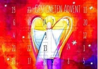 "Adventskalenderkarte ""Gesegneten Advent"", Motiv: Engel"