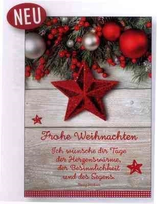 postkarte frohe weihnachten mit text ich w nsche dir. Black Bedroom Furniture Sets. Home Design Ideas