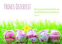 Postkarte Frohes Osterfest